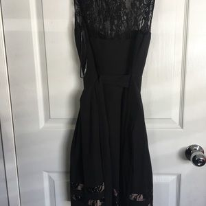 Guess black dress size 4